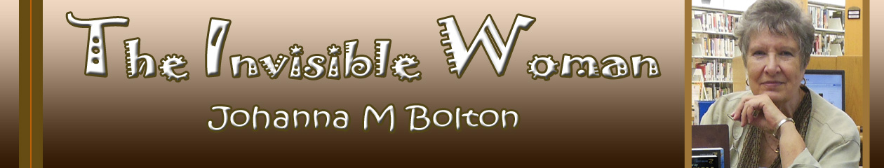 The Invisible Woman – Johanna M Bolton